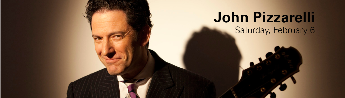 John Pizzarelli performs at NC State LIVE on Saturday, February 6