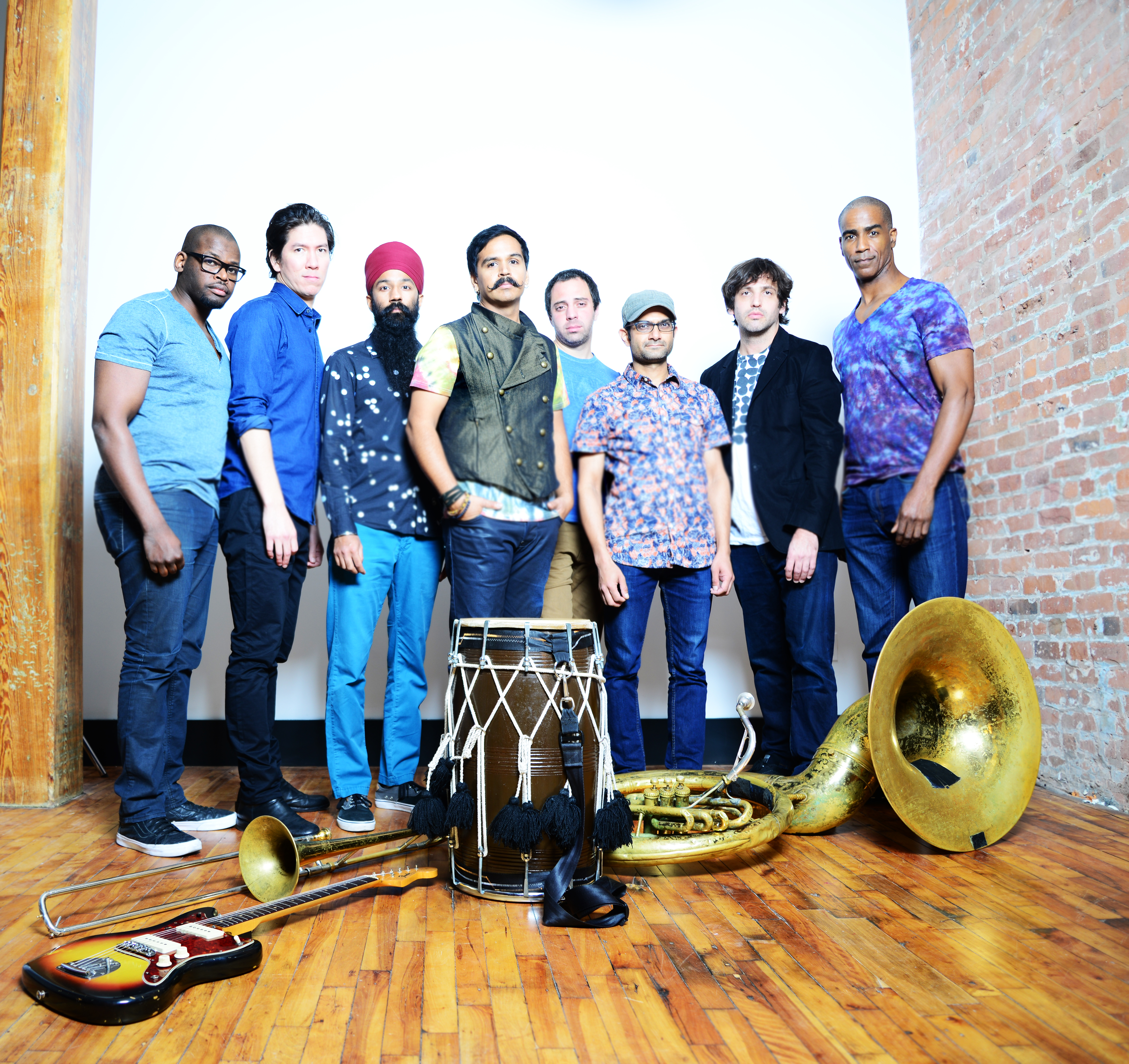 Red Baraat, photo by Shervin Lainez
