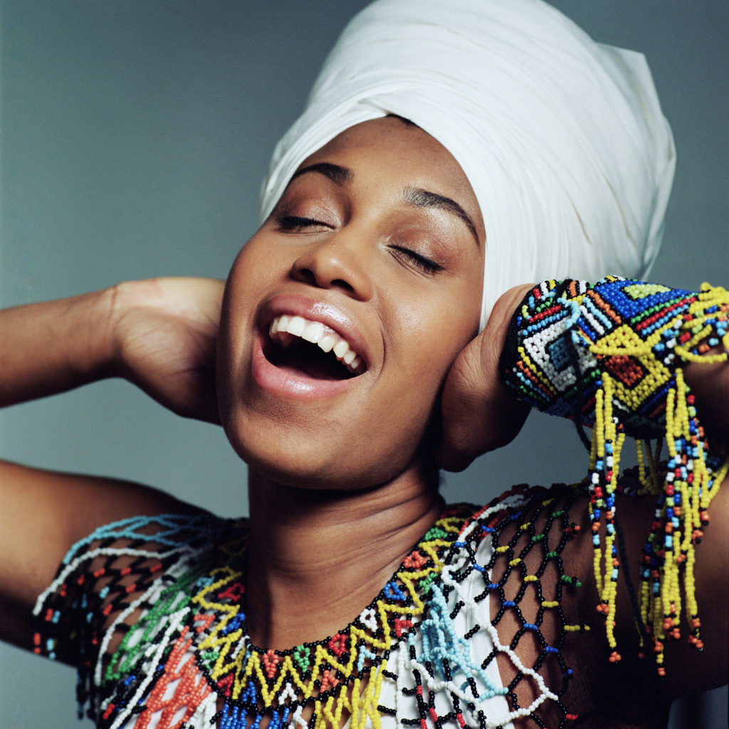 NC State LIVE presents Jazzmeia Horn, March 29, 2019. Photo by Jacob Blickenstaff.