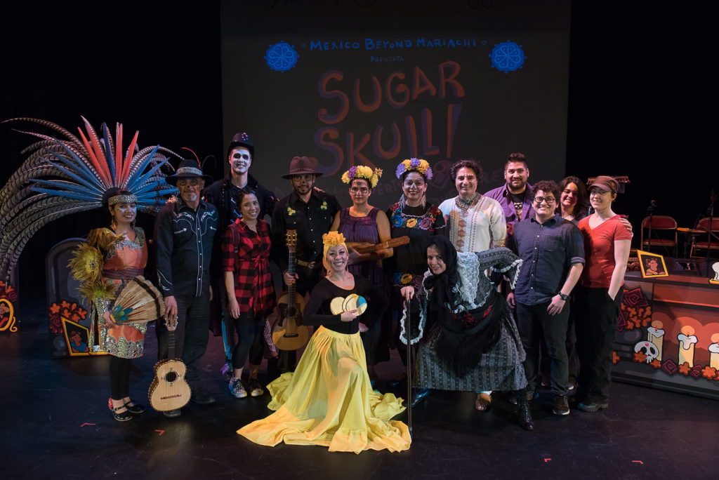 NCStateLIVE presents Mexico Beyond Mariachi's SUGAR SKULL! photo by Christopher Duggan
