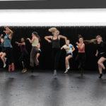 David Rousseve teaches a dance class at NC State. Photo by Robert Davezac.