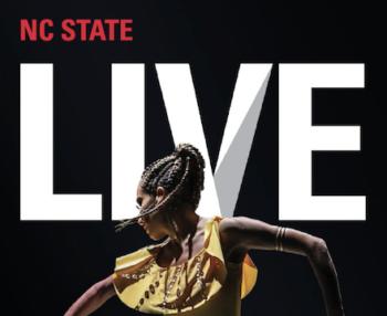 NC State LIVE 19-20 Season Brochure Cover