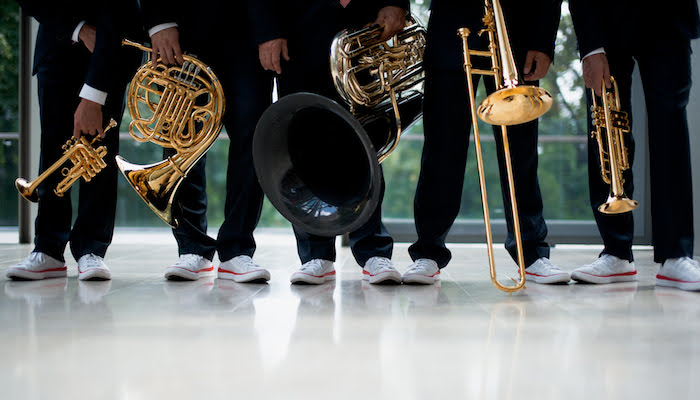 Canadian Brass at NC State LIVE on November 16, 2019.