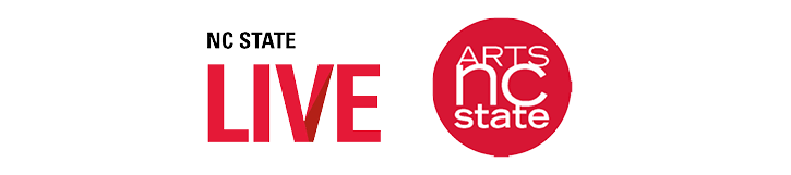 NC State LIVE and Arts NC State logos