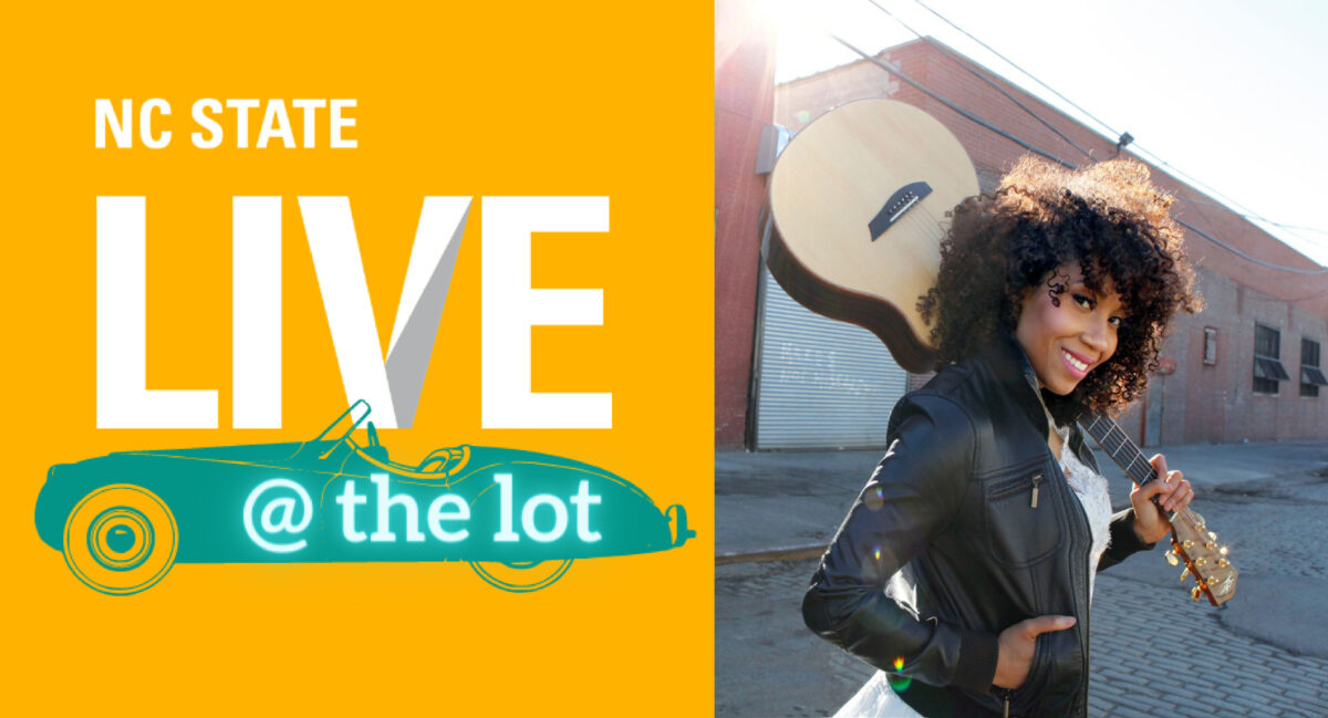 LIVE@the Lot logo with photo of Rissi Palmer by Jimmy Bruch
