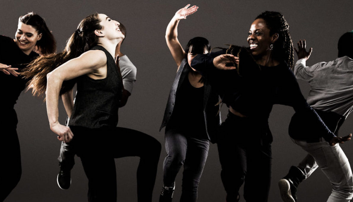 dancers from Ephrat Asherie Dance. Photo by Matthew Murphy.