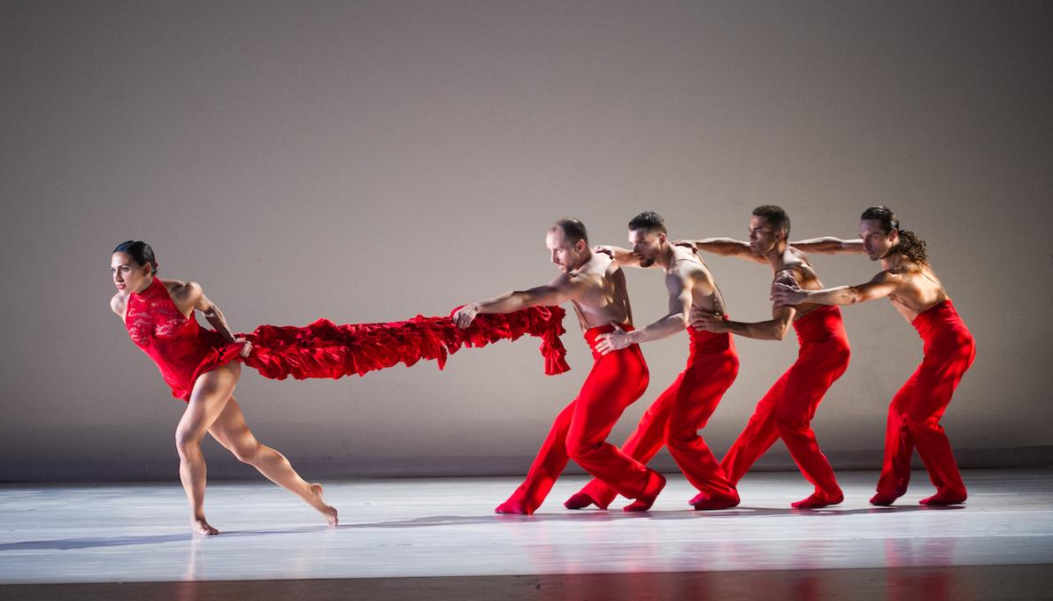 Dancers from Ballet Hispanico. Photo by Paula Lobo.